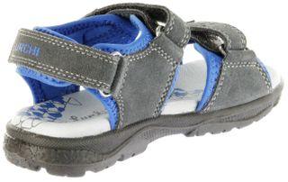 Lurchi Kinder Sandaletten grau Lederdeck Jungen Schuhe 33-32004-45 Kreon – Bild 5