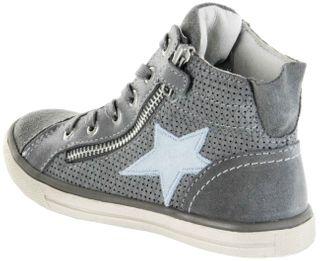 Lurchi Kinder Halbschuhe Sneaker grau Velourleder Mädchen Schuhe 33-13794-25 Saskia – Bild 3