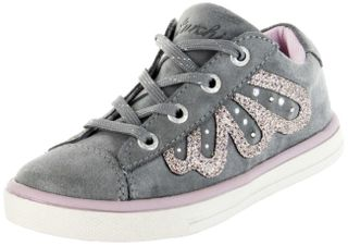 Lurchi Kinder Halbschuhe Sneaker Blinki grau Velourleder Mädchen Schuhe 33-13633-25 Sibell – Bild 1