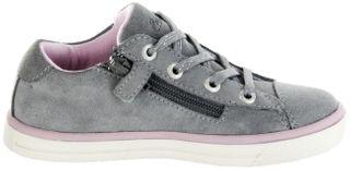 Lurchi Kinder Halbschuhe Sneaker Blinki grau Velourleder Mädchen Schuhe 33-13633-25 Sibell – Bild 7