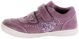 Lurchi Kinder Halbschuhe Sneaker lila Velourleder Mädchen Schuhe 33-15269-23 oldrose Tany – Bild 2