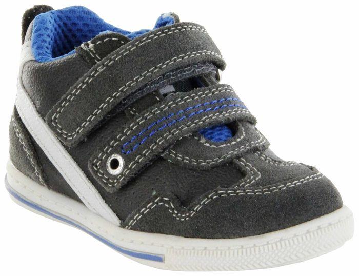 Lurchi Kinder Lauflerner Leder grau Jungen Schuhe 33-21708-25 Brucy