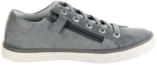 Lurchi Kinder Halbschuhe Sneaker grau Velourleder Mädchen Schuhe 33-13621-25 Shirin – Bild 7