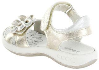 Lurchi Kinder Sandaletten gold Lederdeck Mädchen-Schuh 33-18716-39 Fini – Bild 3