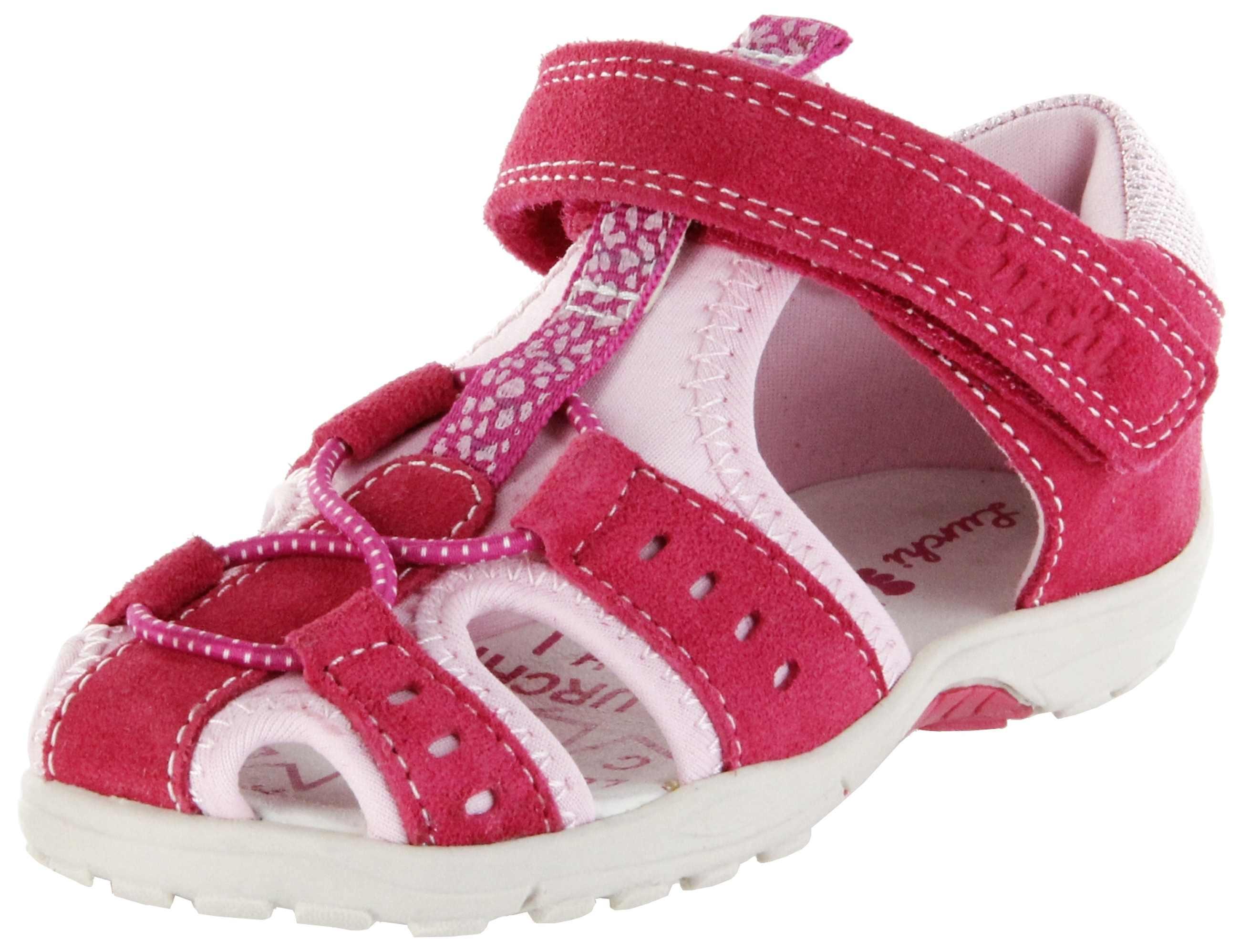 best loved f4293 32d30 Lurchi Kinder Lauflerner-Sandalen pink Leder Mädchen Schuh 33-16041-23 Maxy