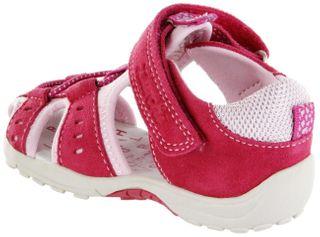 Lurchi Kinder Lauflerner-Sandalen pink Leder Mädchen Schuh 33-16041-23 Maxy – Bild 3