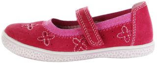 Lurchi Kinder Ballerinas pink Velourleder Mädchen Schuhe 33-15270-43 Tiffi – Bild 2