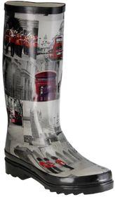 ConWay Gummistiefel schwarz Regenstiefel Damen Stiefel Schuhe London – Bild 1