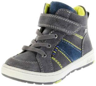 Lurchi Kinder Halbschuhe grau Velourleder Jungen Schuhe 33-13507-25 charcoal DET-TEX – Bild 1
