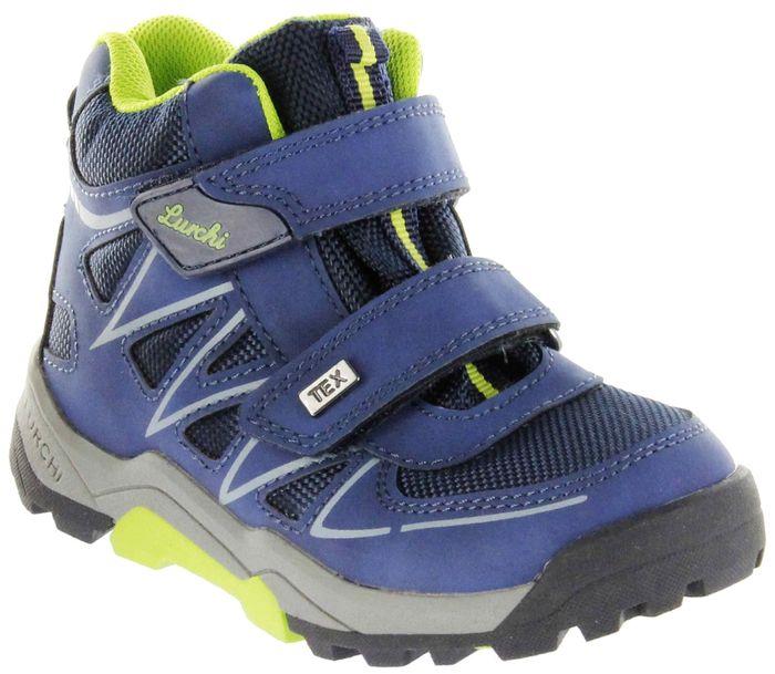 Lurchi Kinder Halbschuhe blau Jungen Boots Schuhe 33-21527-42 jeans TORBEN-TEX