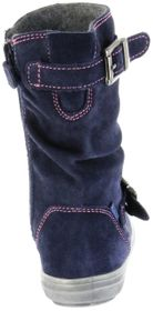 Richter Kinder Winter Stiefel blau Velourleder Warm SympaTex Mädchen WMS 4454-441-7200 atlantic Ilva – Bild 3