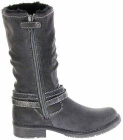 Lurchi Kinder Stiefel grau Velourleder Mädchen Schuhe 33-17021-25 charcoal LIA-TEX – Bild 4