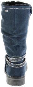 Lurchi Kinder Stiefel blau Velourleder Mädchen Schuhe 33-17021-29 dk. petrol LIA-TEX – Bild 3