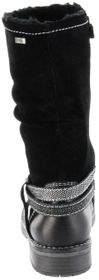 Lurchi Kinder Stiefel schwarz Leder Mädchen Schuhe 33-17021-01 black LIA-TEX – Bild 3