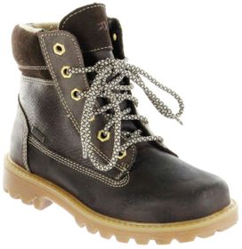 Richter Kinder Winter Stiefel braun Glattleder Warm SympaTex Jungen Schuhe 7623-441-9500 coffee Dragon