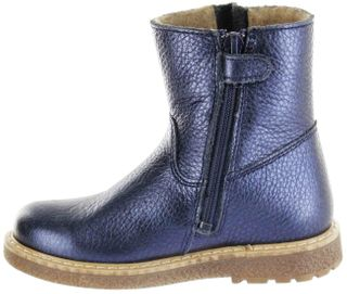 Richter Kinder Winter Boots Stiefel blau Warm Metallicleder RichTex Mädchen 4751-441-7200 atlantic Audi – Bild 5
