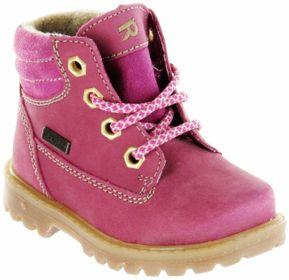 Richter Kinder Lauflerner-Stiefel SympaTex Warm Nubukleder pink Mädchen 1222-441-3501 fuchsia Pragon – Bild 1