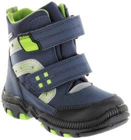 Richter Kinder Winter Stiefel Boots Blinkies blau SympaTex Warm Jungen Schuhe 8533-441-7201 atlantic WMS Tundra – Bild 1