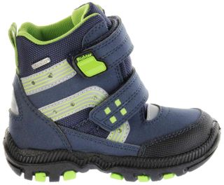Richter Kinder Winter Stiefel Boots Blinkies blau SympaTex Warm Jungen Schuhe 8533-441-7201 atlantic WMS Tundra – Bild 2
