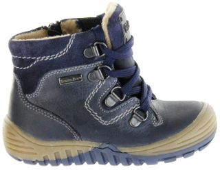 Richter Kinder Winter Stiefel Boots Glattleder blau RichTex Jungen Schuhe 6721-441-7200 atlantic Marvis – Bild 2