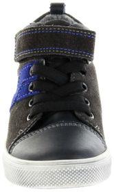 Richter Kinder Halbschuhe Sneaker grau Warm Leder Jungen Schuhe FitMI SympaTex 6542-441-6501 steel Ola – Bild 6