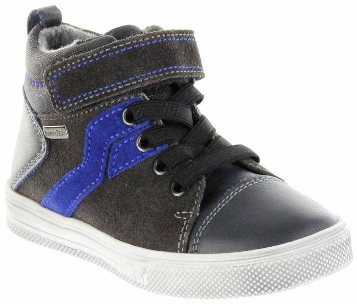 Richter Kinder Halbschuhe Sneaker grau Warm Leder Jungen Schuhe FitMI SympaTex 6542-441-6501 steel Ola