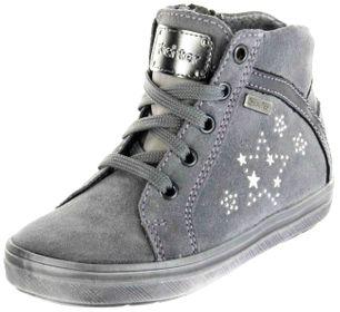 Richter Kinder Halbschuhe Sneaker grau Velourleder Mädchen Schuhe Warm SympaTex 4447-442-6301 ash Ilva – Bild 1
