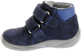 Richter Kinder Lauflerner blau SympaTex Velour Jungen Schuhe 0436-441-7201 atlantic Mogli – Bild 5
