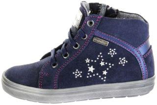 Richter Kinder Halbschuhe Sneaker blau Velourleder Warm Mädchen Schuhe SympaTex 4447-442-7202 atlantic Ilva – Bild 2
