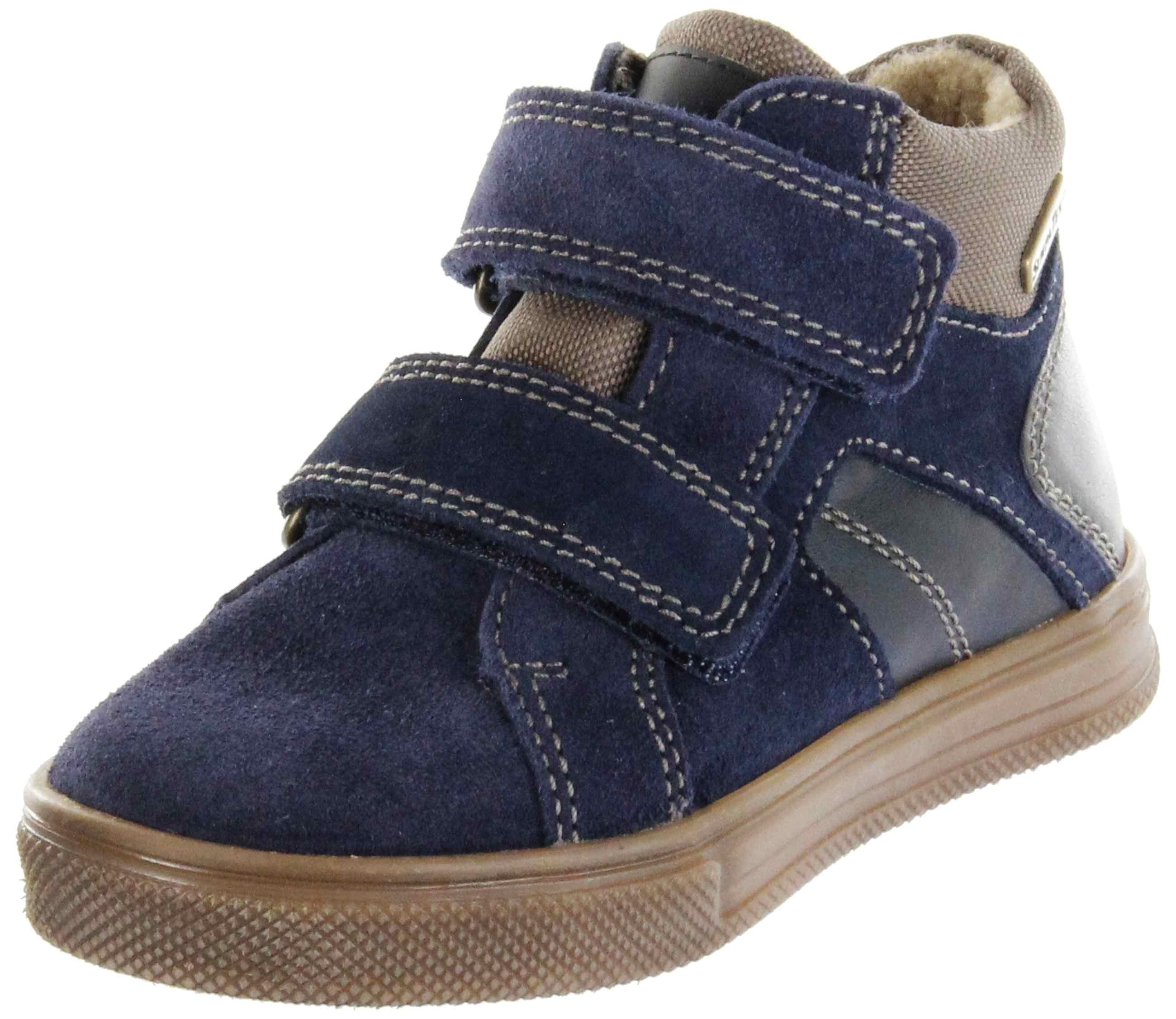 Richter Kinder Halbschuhe Sneaker blau Warm Leder Sympatex Jungen Schuhe 6539 441 7201 atlantic Ola