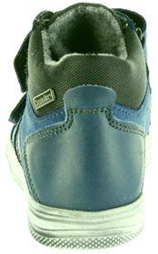 Richter Kinder Halbschuhe Sneaker blau Warm Leder Sympatex Jungen Schuhe 6539-441-6811 pacific Ola – Bild 3