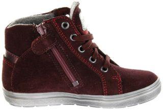 Richter Kinder Halbschuhe Sneaker rot Velourleder Mädchen-Schuhe Warm SympaTex 4447-442-7611 burgundy Ilva – Bild 5