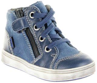 Richter Kinder Lauflerner blau Leder Jungen Schuhe 0941-541-6700 pacific Jimmy