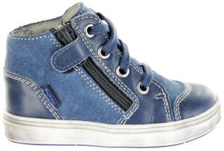 Richter Kinder Lauflerner blau Leder Jungen Schuhe 0941-541-6700 pacific Jimmy – Bild 2