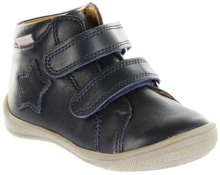 Richter Kinder Lauflerner Glattleder blau Mädchen Schuhe 0334-541-7200 atlantic Regina S