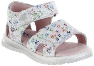 Richter Kinder Lauflerner-Sandalen weiß Leder Mädchen Schuhe 2401-546-0400 panna Lilly