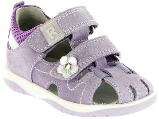 Richter Kinder Lauflerner-Sandalen violett Velourleder Mädchen Schuhe 2603-541-1401 Babel – Bild 1