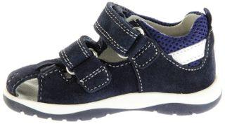 Richter Kinder Lauflerner-Sandalen blau Velourleder Mädchen Schuhe 2603-541-7202 atlantic Babel – Bild 5