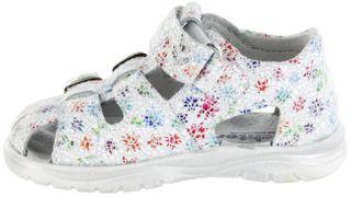 Richter Kinder Lauflerner-Sandalen Leder weiß Mädchen Schuhe 2601-544-0400 panna Babel – Bild 5