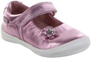 Richter Kinder Lauflerner-Ballerina Metallicleder rosa Mädchen Schuhe 0311-542-3110 candy Regina S – Bild 1
