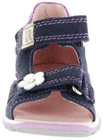 Richter Kinder Lauflerner-Sandalen blau Velourleder Mädchen Schuhe 2302-542-7202 atlantic Jumbo – Bild 6
