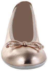 Richter Kinder Ballerinas Metallicleder Lederdeck rosa Mädchen Schuhe 3510-542-3000 salmon Yvonne – Bild 6