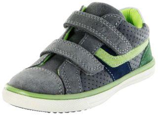 Lurchi Kinder Halbschuhe Sneaker grau Velourleder Jungen Schuhe 33-13303-25 grey Michael – Bild 1