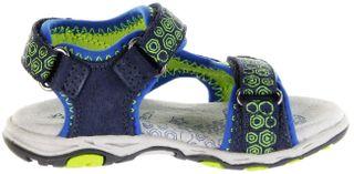 Lurchi Kinder Outdoor Sandaletten blau Leder Jungen Schuhe 33-21115-22 dk. jeans Brian – Bild 5