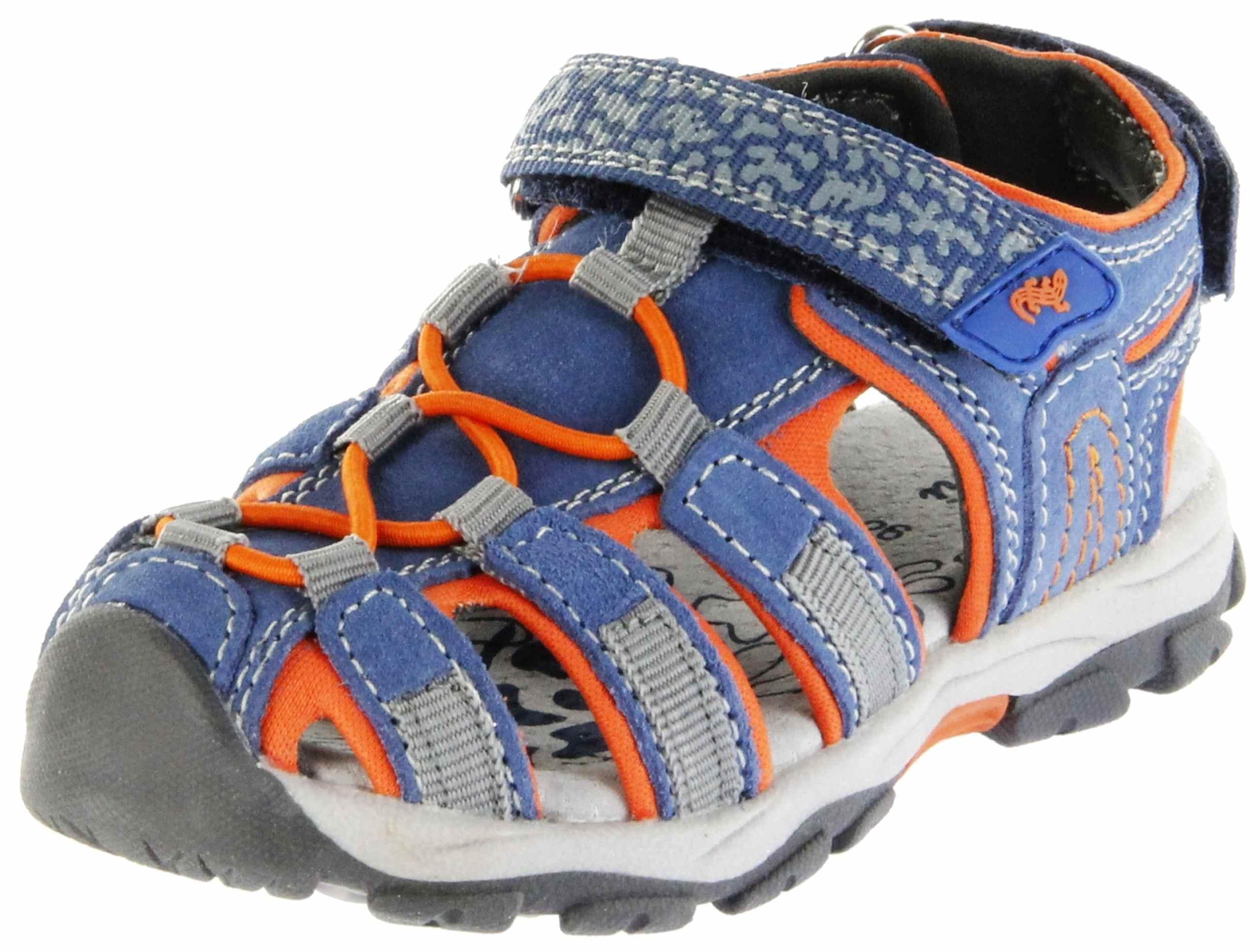 san francisco 29967 c84a4 Lurchi Kinder Outdoor Sandaletten blau Leder Jungen Schuhe 33-21607-42  Jeans Bobby