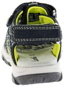 Lurchi Kinder Outdoor Sandaletten blau Leder Jungen Schuhe 33-21607-22 navy Bobby – Bild 3
