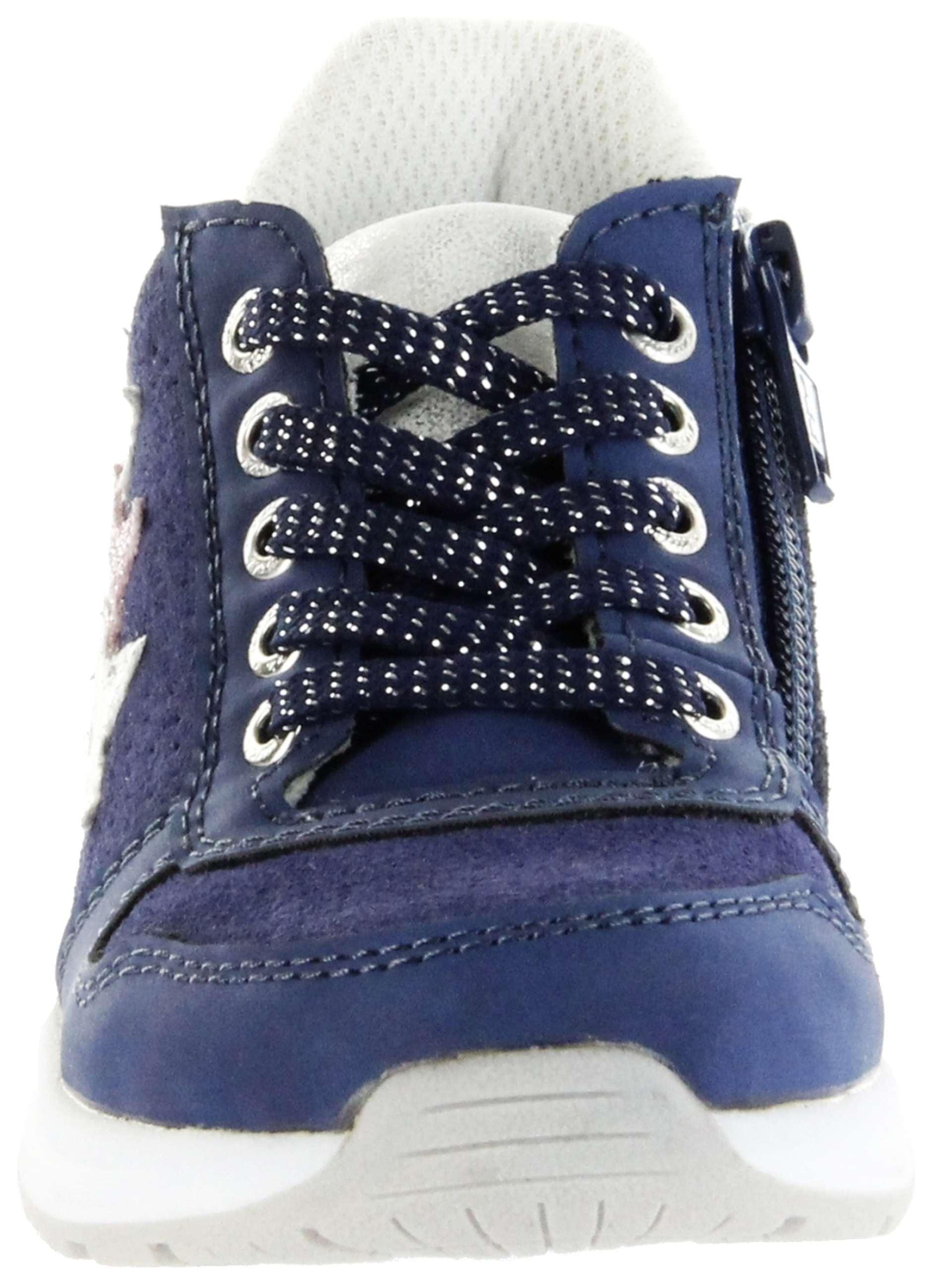 Lurchi Kinder Halbschuhe Sneaker blau Mädchen Schuhe 33 22204 42 dk. blue Verena