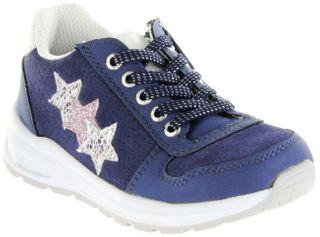Lurchi Kinder Halbschuhe Sneaker blau Mädchen Schuhe 33-22204-42 dk. blue Verena – Bild 1
