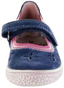 Lurchi Kinder Ballerinas blau Velourleder Lederdeck Mädchen Schuhe 33-15286-22 Jeans Tiffi – Bild 6