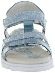 Lurchi Kinder Sandaletten blau Lederdeck Mädchen Schuhe 33-22106-32 lt. blue Ella – Bild 6